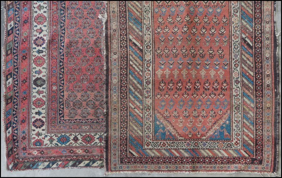1085012: TWO CAUCASIAN RUGS.