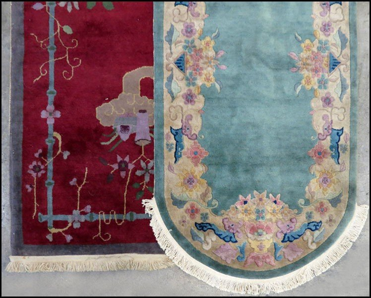 1085015: TWO CHINESE RUGS.