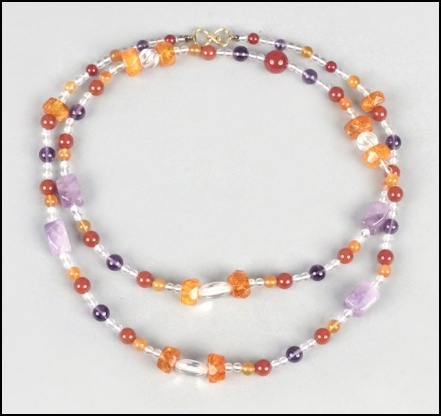 487016: KAI-YIN LO SINGLE STRAND NECKLACE.