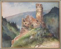 1106078: GERHARD CF MILLER (AMERICAN 1903-2003) THE RUI