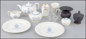 COLLECTION OF WEDGWOOD QUEENSWARE PORCELAIN.