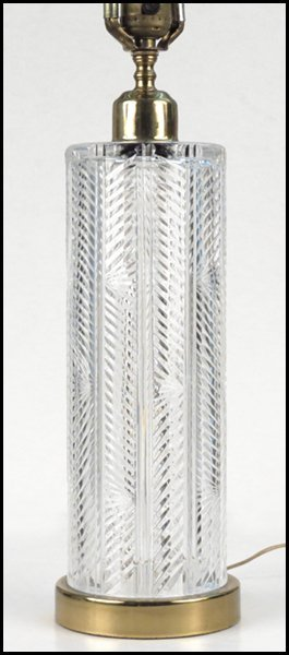1112048: WATERFORD CRYSTAL TABLE LAMP.