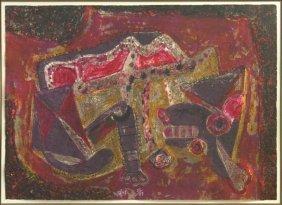 YURI TREMIER (UKRANIAN, B.1961) UNTITLED.