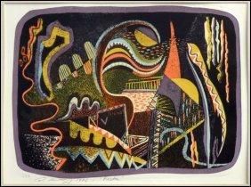 ARTIST UNKNOWN (20TH CENTURY) FIESTA.