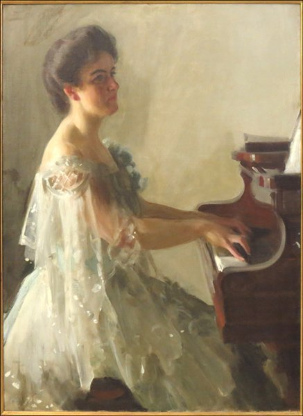 1116110: ANDERS ZORN (1860-1920) PORTRAIT OF EMILY HUTC