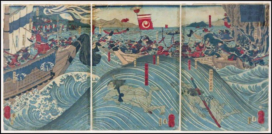 1116117: TSUKIOKA YOSHITOSHI (JAPANESE 1839-1892) FRAME