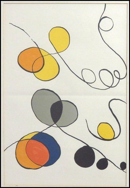 1116130: ALEXANDER CALDER (AMERICAN 1898-1976) MERGING