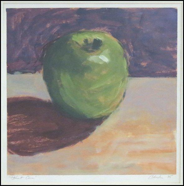 1116131: ARTIST UNKNOWN (20TH CENTURY) FIRST ONE, 1995.