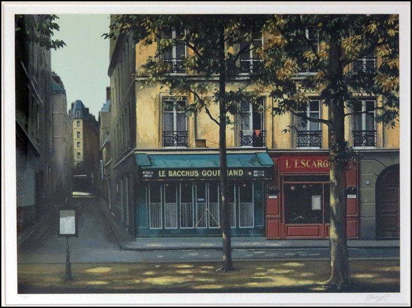 1116156: THOMAS PRADZYNSKI (POLISH, BORN 1951) LE BACCH