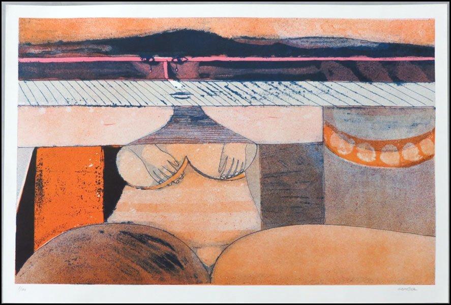 1116160: HANS GRAEDER (SWISS B. 1930)  CASSANDRA, 1986.