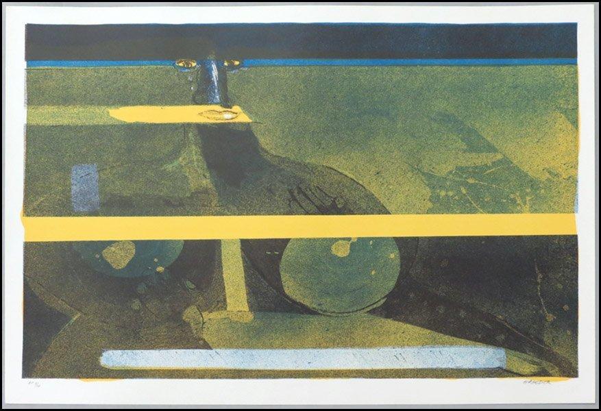 1116161: HANS GRAEDER (SWISS, B. 1930)  NIGHT, 1986.