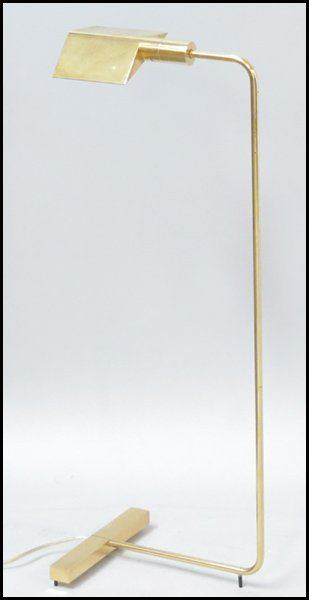 1142158: CEDRIC HARTMAN BRASS FLOOR LAMP.