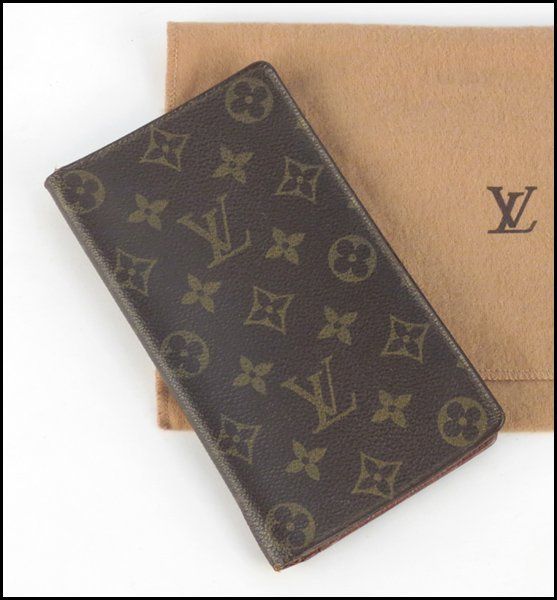 499030: LOUIS VUITTON MONOGRAMMED CANVAS AND LEATHER WA