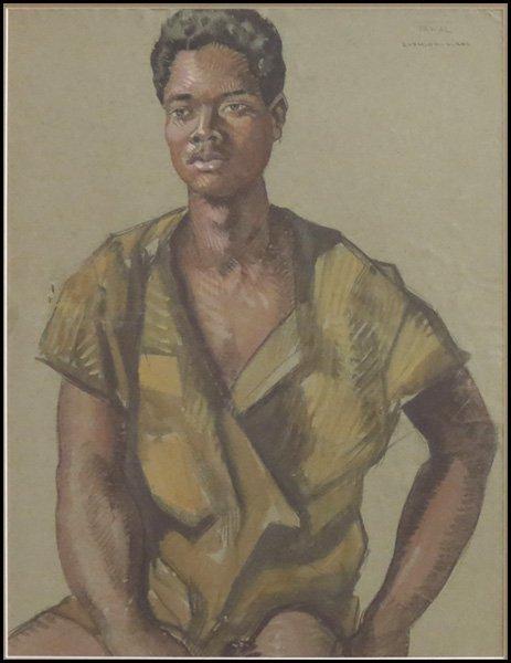 1166003: ATTRIBUTED TO RAYMOND VIRAC (FRENCH 1892-1946)