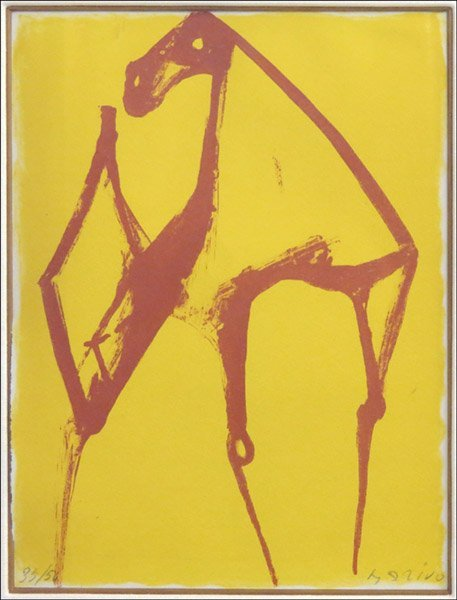 1166017: MARINO MARINI (ITALIAN 1901-1980) UNTITLED.