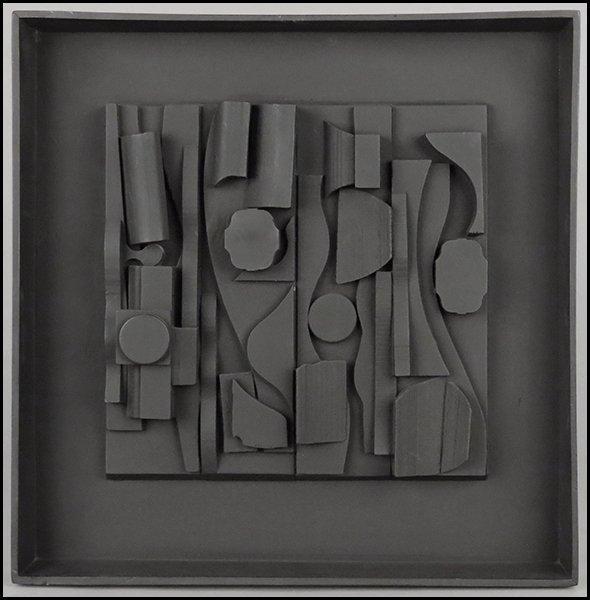 1166019: LOUISE NEVELSON (1899-1988) SYMPHONY THREE.