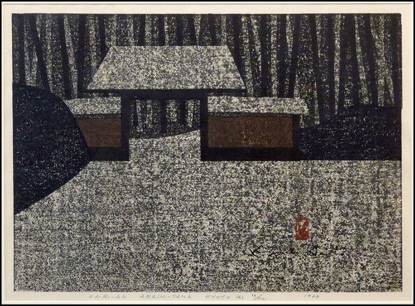 1166024: KIYOSHI SAITO (JAPANESE 1907-1997).