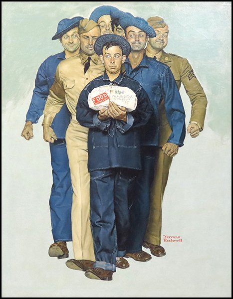 1166100: NORMAN ROCKWELL (1894-1978) WILLIE GILLIS, PAC