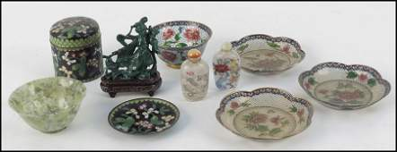 1173034: COLLECTION OF DECORATIVE ITEMS.