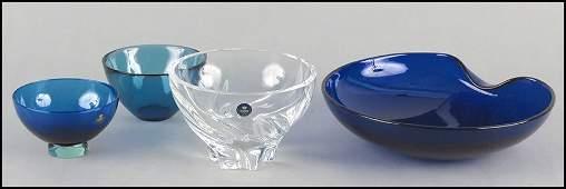 ELSA PERETTI COBALT GLASS BOWL