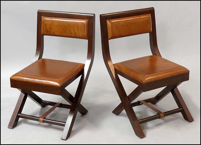 Upholstered Wooden Folding Chairs of stetson leather upholstered folding chairs.