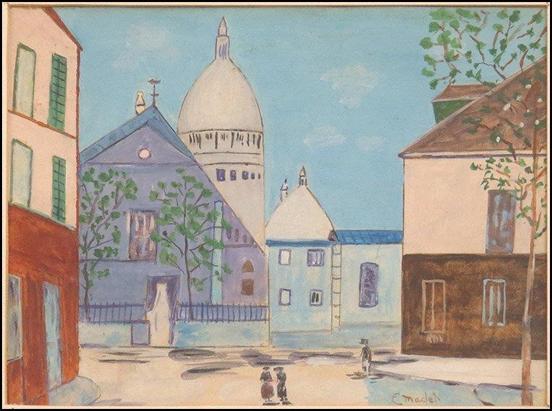 ELISEE MACLET (FRENCH, 1881-1962) LA MAISON DE BERLIOZ.