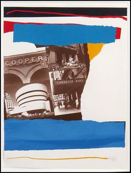 ROBERT MOTHERWELL (AMERICAN, 1915-1991) NEW YORK CULTUR