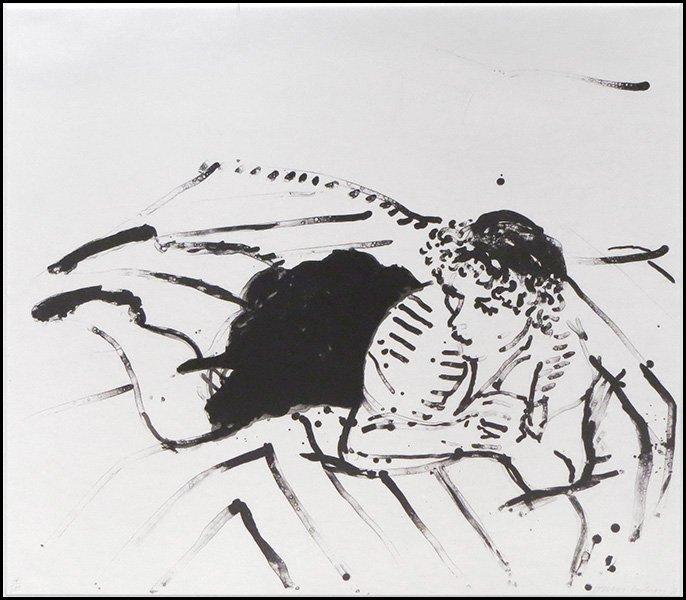 DAVID HOCKNEY (BRITISH, B. 1937)  BIG CELIA PRINT #2, 1