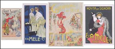 FRENCH CARNAVAL DE NICE POSTER