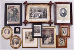 COLLECTION OF PRESIDENTIAL FRAMED PORTRAITS