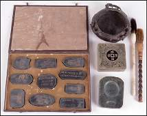 COLLECTION OF CHINESE SCHOLAR ITEMS
