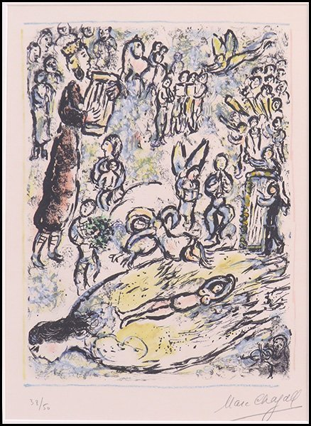 MARC CHAGALL (RUSSIAN/AMERICAN, 1887-1985) LA FLUTE ENC
