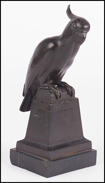 WILHELM KRIEGER (GERMAN, 1877-1945) COCKATOO.