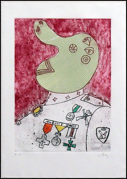 ENRICO BAJ (ITALIAN, 1924-2003) UNTITLED [GENERAL].