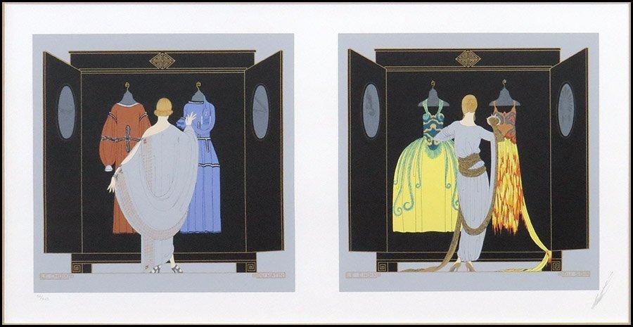 ROMAIN DE TIRTOFF ERTE (FRENCH, 1892-1990) LE CHOIX: DU