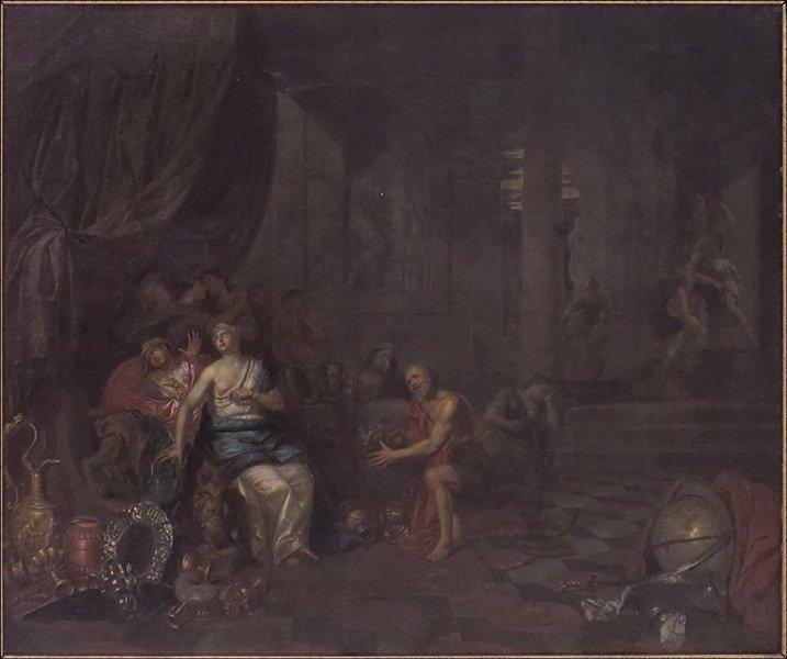 HENDRIK GOVAERTS (BELGIAN, 1669-1720) THE DEATH OF CLEO