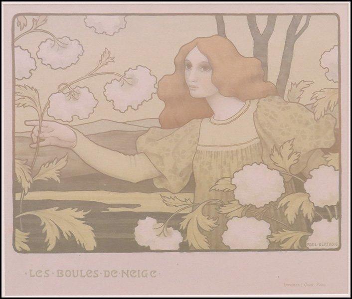 PAUL EMILE BERTHON (FRENCH, 1872-1909) LES BOULES DE NE