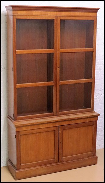 BUTTERNUT MAPLE CABINET.