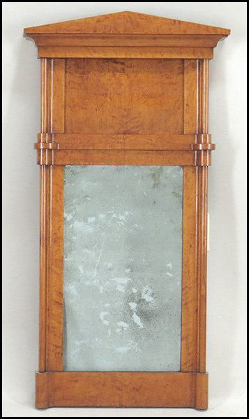 BIEDERMEIER BIRCH MIRROR.