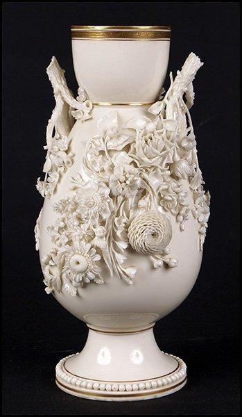Belleek Porcelain Flower Vase
