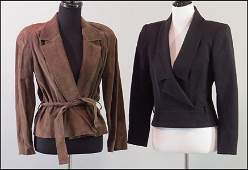 CHRISTIAN DIOR BROWN SUEDE JACKET