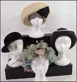 COLLECTION OF HATS.
