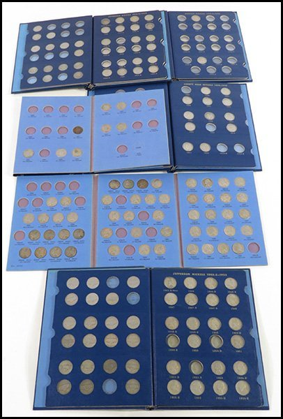 COLLECTION OF LIBERTY, BUFFALO, AND JEFFERSON NICKELS.
