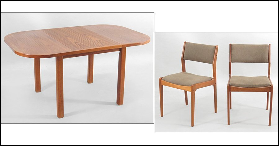 NIELS MOLLER FOR DIETHELM SCANSTYLE, DANISH MODERN DINI