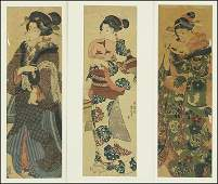 UTAGAWA KUNIYOSHI JAPANESE 17971861 TWO WOODBLOCK