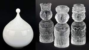 BJORN WIINBLAD FOR ROSENTHAL 'THREE WISE MEN' GLASS