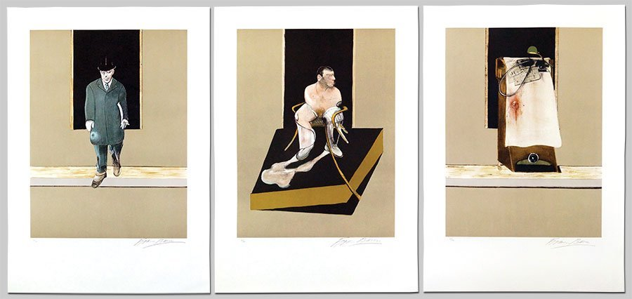 FRANCIS BACON (1909-1987) TRIPTYCH 1986-1987.