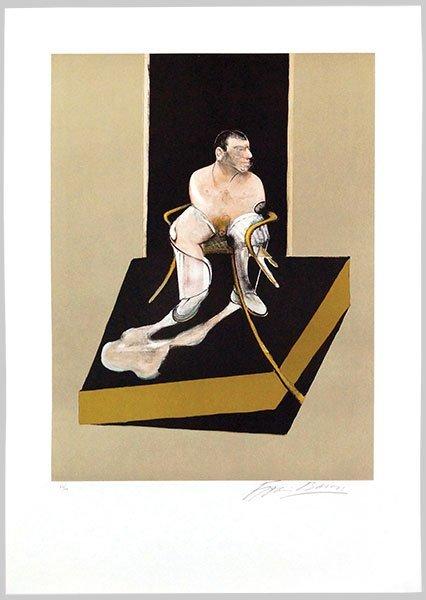 FRANCIS BACON (1909-1987) TRIPTYCH 1986-1987. - 3