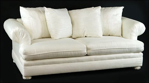 A KARPEN CONTEMPORARY WHITE UPHOLSTERED SOFA. - Oct 25, 2014 ...