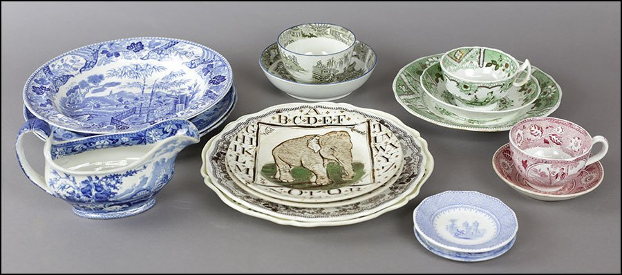 COLLECTION OF 18TH AND 19TH CENTURY ENGLISH